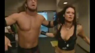 Kane chases Edge and Lita