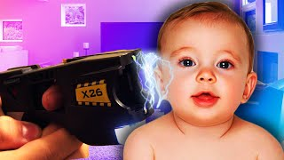 TASERED A BABY! | Who's Your Daddy #2