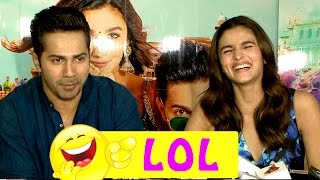 LOL! Alia Bhatt and Varun Dhawan will crack you up with this funny interview