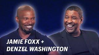 Jamie Foxx Interviews Denzel Washington || OFF SCRIPT a Grey Goose Production