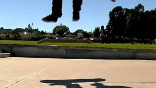 DOUBLE KICKFLIP SLOW MOTION