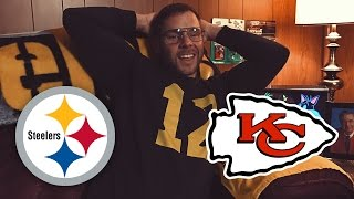Dad Watches Steelers vs Chiefs (Week 4)