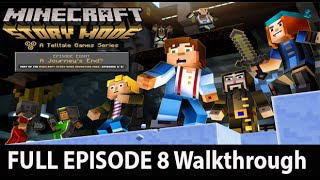Minecraft Story Mode Episode 8 Full Walkthrough NO Commentary Gameplay w/ Ending & Credits