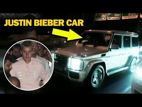 FANS CHASE Justin Bieber's Car In India, BREAKS SECURITY