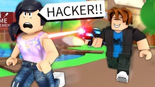 GETTING WEAPONS IN NORMAL ROBLOX GAMES