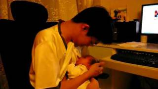 1st month milk father