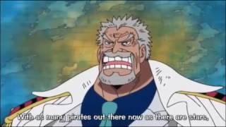 Monkey D  Garp Talks About the Yonkou In Water 7 ! One Piece - ENG SUB