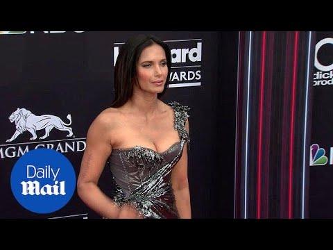 Xxx Mp4 Padma Lakshmi Looks Amazing In Metallic At The Billboard Awards Daily Mail 3gp Sex