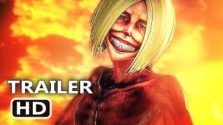 ATTACK ON TITAN 2 ✩ Game Trailer 2018
