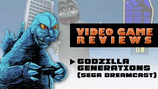 Godzilla Generations (Sega Dreamcast) - MIB Video Game Reviews Ep 7