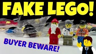 HOW TO TELL REAL LEGO FROM KNOCKOFF LEGO! FAKE LEGO!