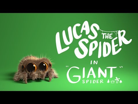 Lucas the Spider Giant Spider