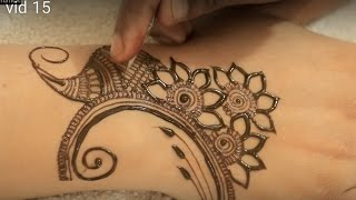 2017 Floral Mehndi Video | Heena Mehendi Designs For Hands