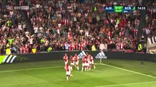 4.8.2015 Ajax Amsterdam - Rapid Wien 2:3 Highlights [HD]