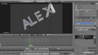How to use Blender To make a Intro on Mac!