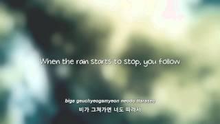 BEAST- 비가 오는 날엔 (On Rainy Days) lyrics [Eng. | Rom. | Han.]