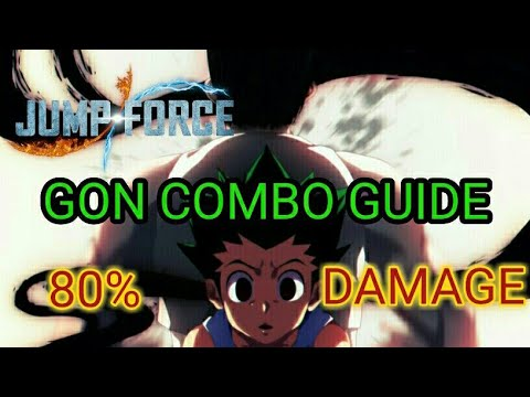 Xxx Mp4 Gon 80 Combo Guide Jump Force 3gp Sex