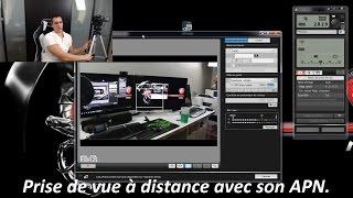 Canon Eos Utility Prise de vue à distance sur écran d'ordinateur