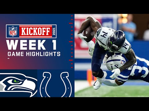 Seahawks vs. Colts Week 1 Highlights NFL 2021