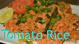 Tomato Rice. Quickest and Easiest recipe video by Chawlas-Kitchen.com Episode#210