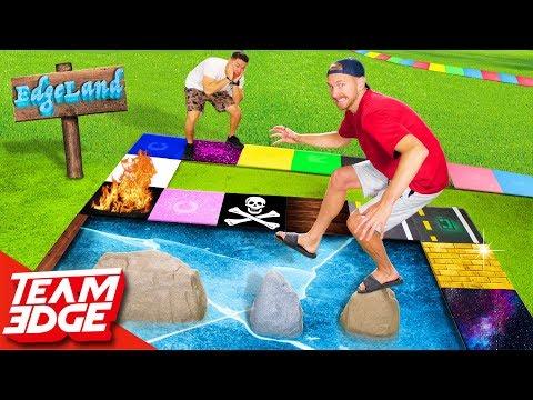 Edgeland Returns Dangerous Giant Board Game