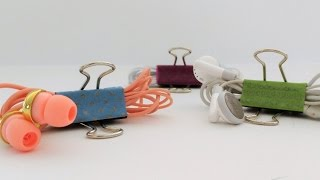 DIY Life Hacks: Clever Things You Can Do With Binder Clips