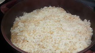 تعليم الطبخ الحلقة الثانية  الرز بالشعيرية