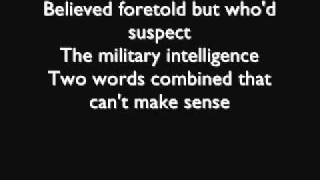 MEGADETH - Hangar 18 (lyrics)