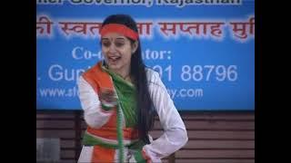 Aye Mere Vatan. Ke Logo by Sheetal Sharma , Jaipur ( Dance )