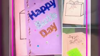 home made easy cards by Dua Saeed's art and craft