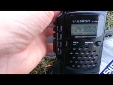 Albrecht AE 2990 AFS teszt 2