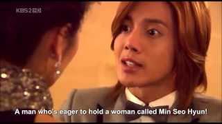 Ji Hoo & Min Seo Hyun Kiss [ENG SUB] HD