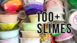 HUGE SLIME HAUL!!! 100+ SLIMES!!! SLIME BASH HAUL!!!