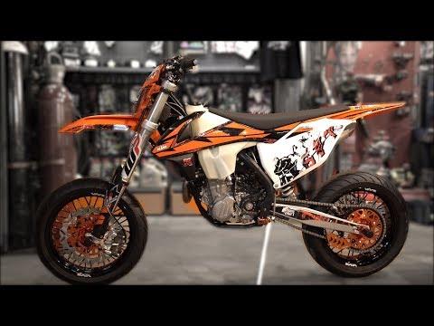 KTM 450 2018 Supermoto project