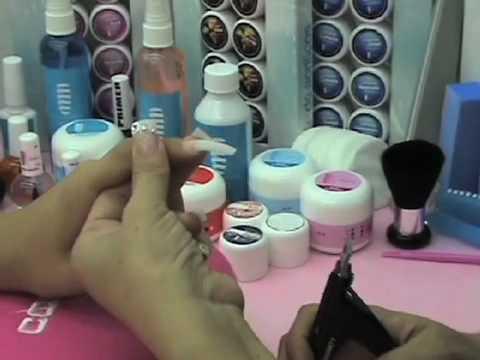 Preparación para la uña de gel Técnicas básicas video 01 de 08