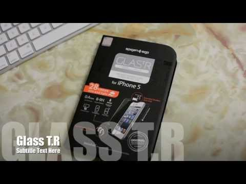 The Ultimate Screen Protector? - Spigen SGP Glass T.R Slim - iPhone 5 - Indepth Review