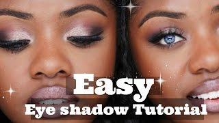 How to Easy Eyeshadow Application   Highly Requested