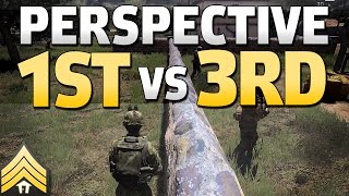 First vs Third-Person in Arma 3 (and DayZ)