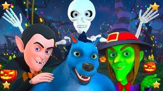 Hello its Halloween | Spooky Cartoon for Children | Preschool Kids Song Playlist by Little Treehouse
