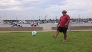 Mesmerizing Soccer Skills at the Beach (THE SAAD TRUTH_489)