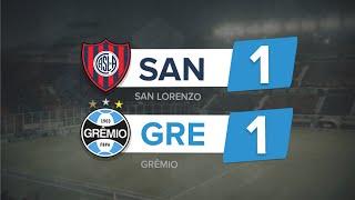 Melhores Momentos - San Lorenzo 1 x 1 Grêmio - Libertadores 2016