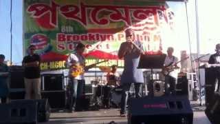 kazi shuvo (live on stage) singing mon pajore!