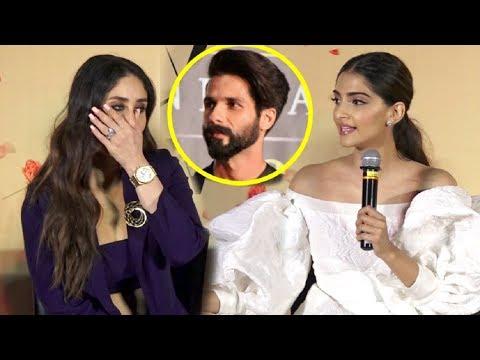 Xxx Mp4 Kareena Kapoor SHOCKING Reaction When Sonam Kapoor Takes Shahid Kapoor Name 3gp Sex