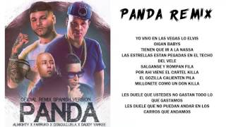 Panda Remix - Almighty ft Farruko, Daddy Yankee y Cosculluela [Video Con Letra]