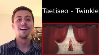 GIRLS' GENERATION-TTS_TWINKLE_Music Video Reaction