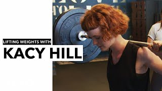 Kacy Hill - Weight Lifting with Kacy Hill