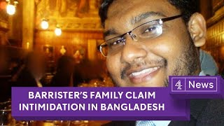 Tulip Siddiq: Detained barrister's family, appealing for MP's help, claim Bangladesh intimidation