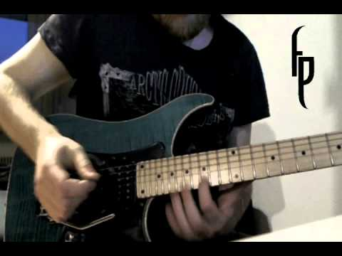 The demonic masquerade GUITAR SOLO - Fredrik Pihl