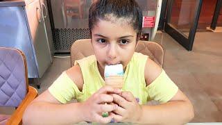 YAĞMUR'un Beğendiği Dondurma Sahte Dondurmaya Benzedi.EĞLENCE TV