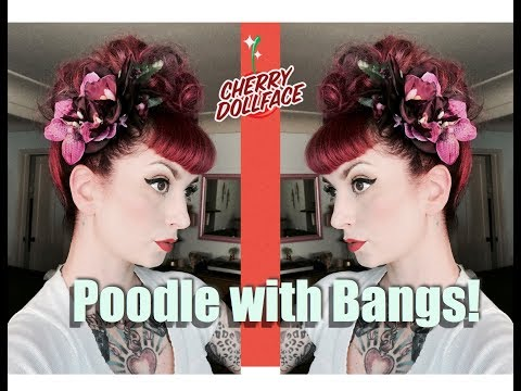 Xxx Mp4 Vintage Hair Tutorial Poodle With Bangs CHERRY DOLLFACE 3gp Sex